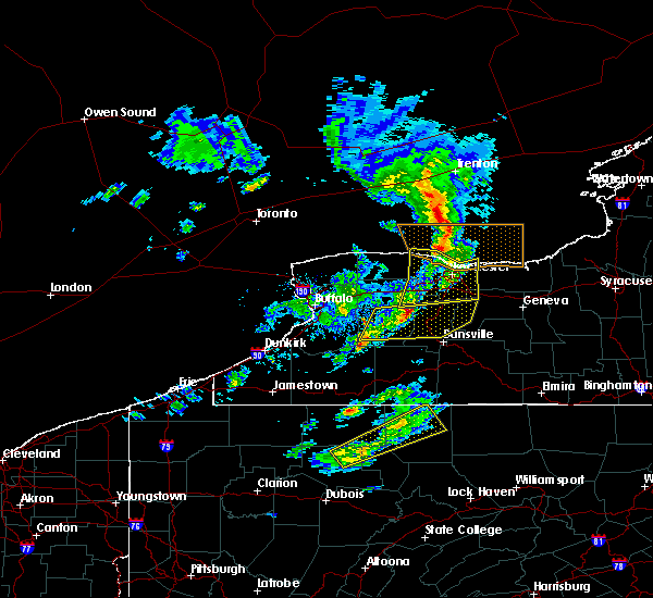 Radar Image for Severe Thunderstorms near East Avon, NY at 3/29/2020 3:25 PM EDT