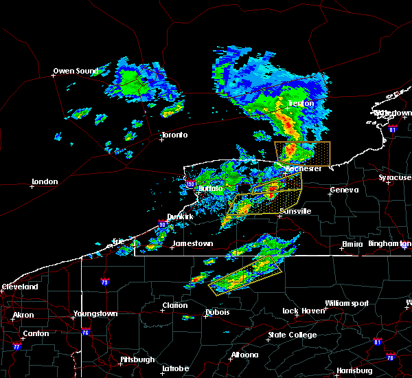 Radar Image for Severe Thunderstorms near Wyoming, NY at 3/29/2020 3:39 PM EDT