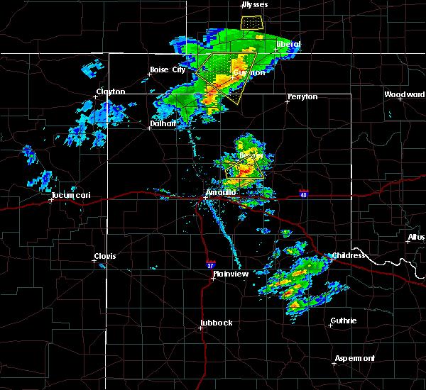 Radar Image for Severe Thunderstorms near Hooker, OK at 3/30/2020 5:48 PM CDT