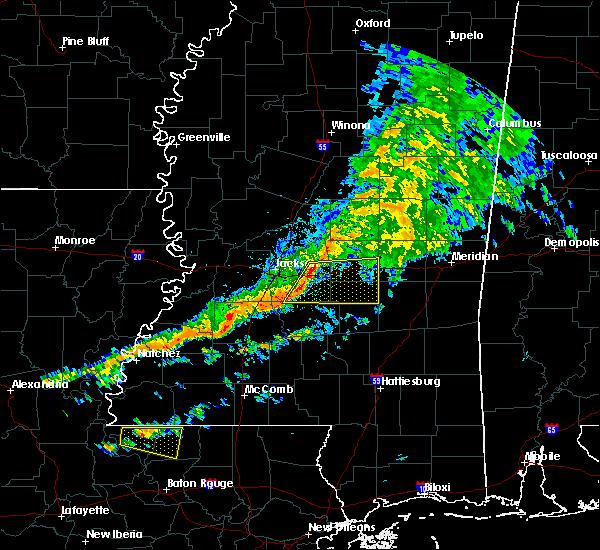 Radar Image for Severe Thunderstorms near Robinhood, MS at 3/31/2020 5:33 AM CDT