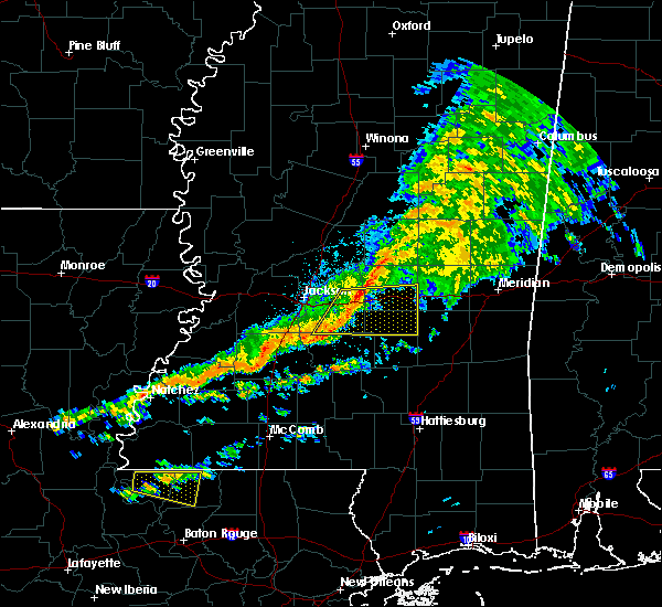 Radar Image for Severe Thunderstorms near Crystal Springs, MS at 3/31/2020 5:44 AM CDT