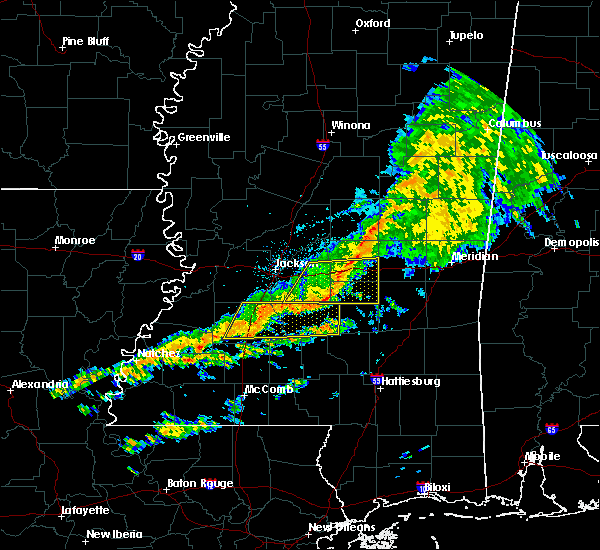 Radar Image for Severe Thunderstorms near Polkville, MS at 3/31/2020 5:58 AM CDT