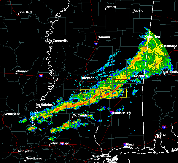 Radar Image for Severe Thunderstorms near Bay Springs, MS at 3/31/2020 6:35 AM CDT