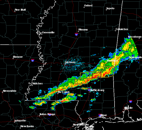 Radar Image for Severe Thunderstorms near Soso, MS at 3/31/2020 7:16 AM CDT