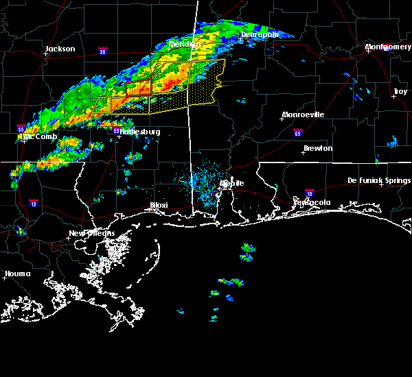 Radar Image for Severe Thunderstorms near Silas, AL at 3/31/2020 7:20 AM CDT