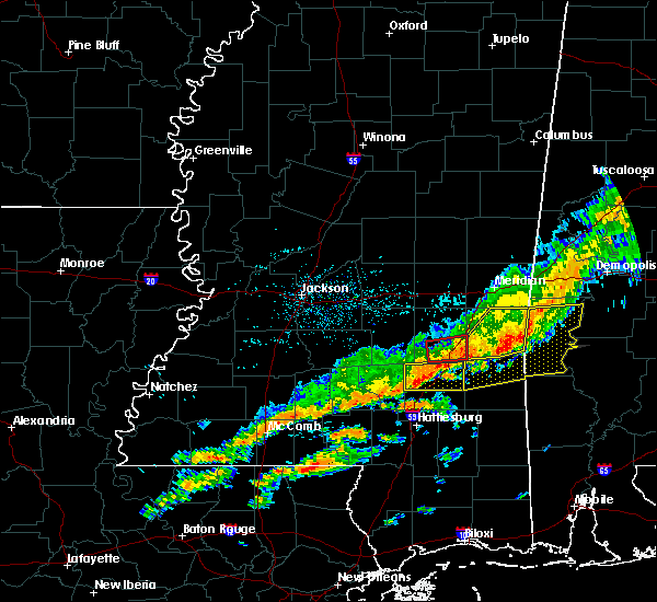 Radar Image for Severe Thunderstorms near Soso, MS at 3/31/2020 7:29 AM CDT