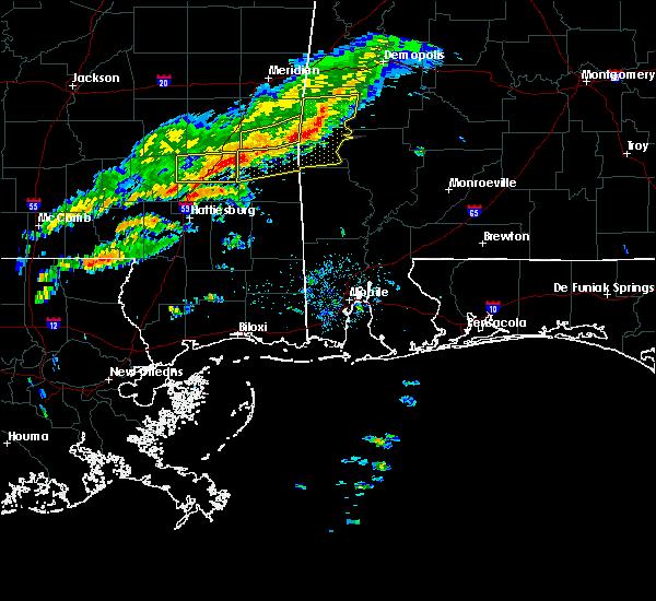 Radar Image for Severe Thunderstorms near Silas, AL at 3/31/2020 7:36 AM CDT