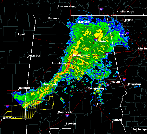 Radar Image for Severe Thunderstorms near Vincent, AL at 3/31/2020 8:08 AM CDT