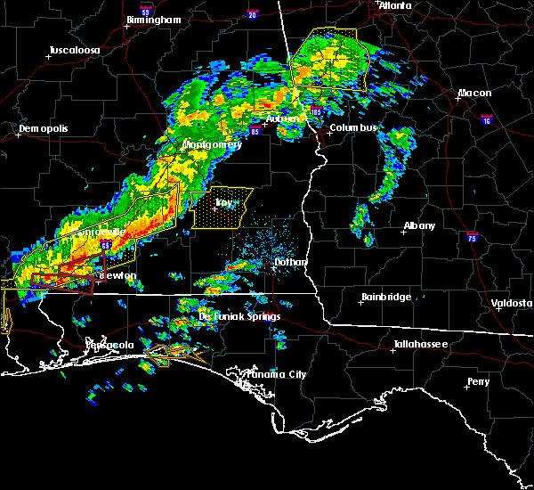 Radar Image for Severe Thunderstorms near Monroeville, AL at 3/31/2020 10:11 AM CDT