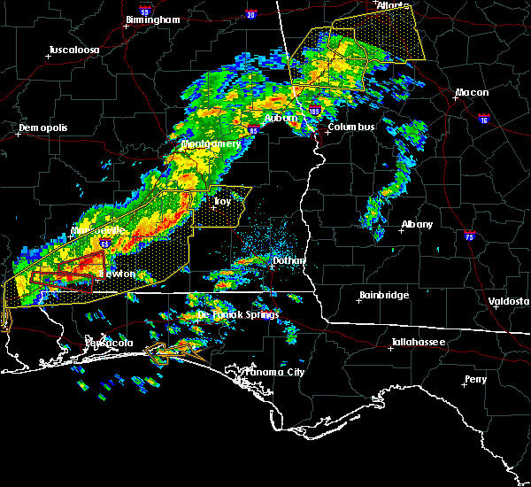 Radar Image for Severe Thunderstorms near Slocomb, AL at 3/31/2020 10:21 AM CDT