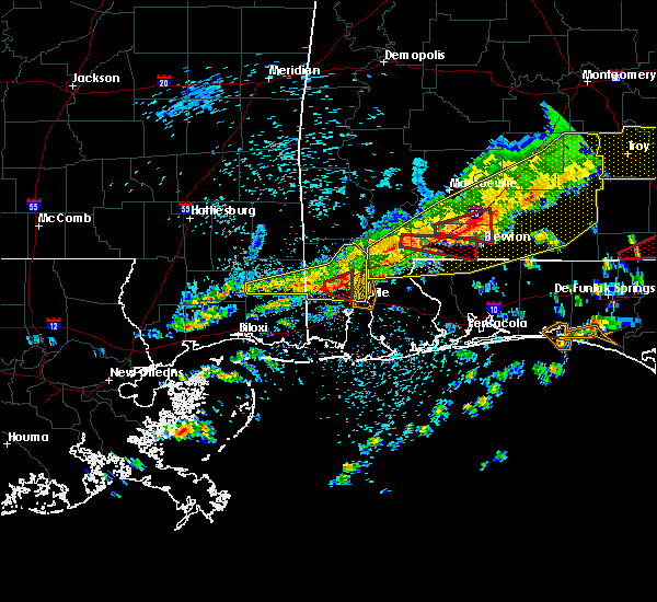 Radar Image for Severe Thunderstorms near Spanish Fort, AL at 3/31/2020 10:24 AM CDT