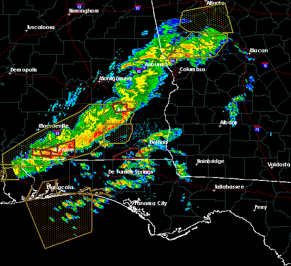 Radar Image for Severe Thunderstorms near Clayton, AL at 3/31/2020 10:53 AM CDT