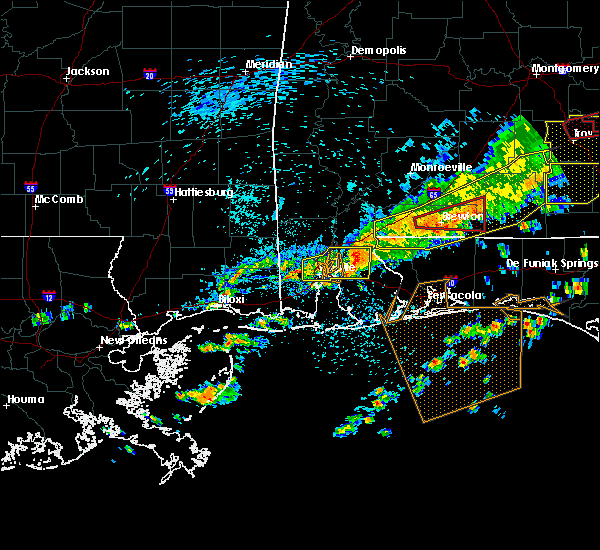 Radar Image for Severe Thunderstorms near Loxley, AL at 3/31/2020 10:57 AM CDT