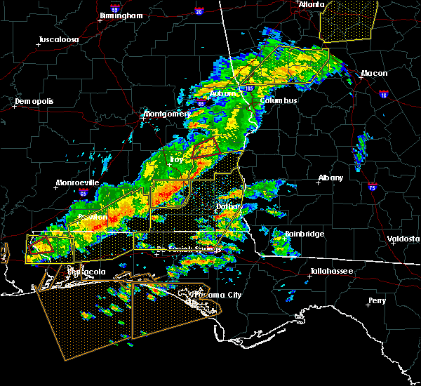 Radar Image for Severe Thunderstorms near Jacob City, FL at 3/31/2020 11:11 AM CDT