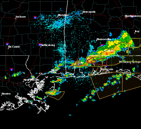 Radar Image for Severe Thunderstorms near Whitfield, FL at 3/31/2020 11:18 AM CDT