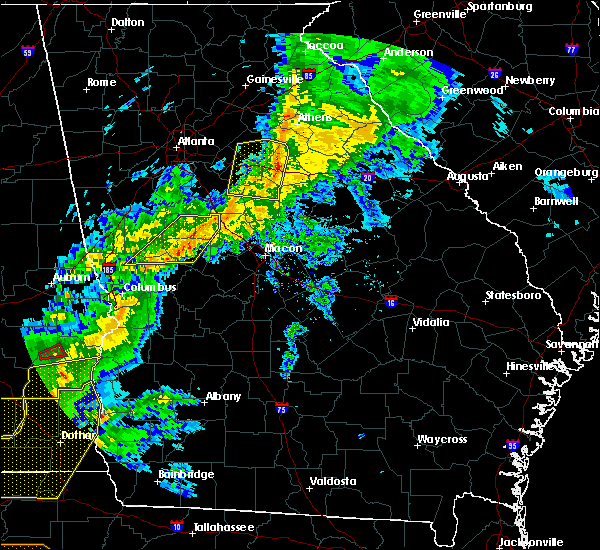 Radar Image for Severe Thunderstorms near Woodville, GA at 3/31/2020 12:30 PM EDT