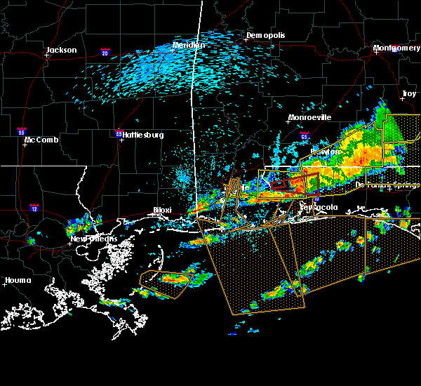 Radar Image for Severe Thunderstorms near Loxley, AL at 3/31/2020 11:33 AM CDT