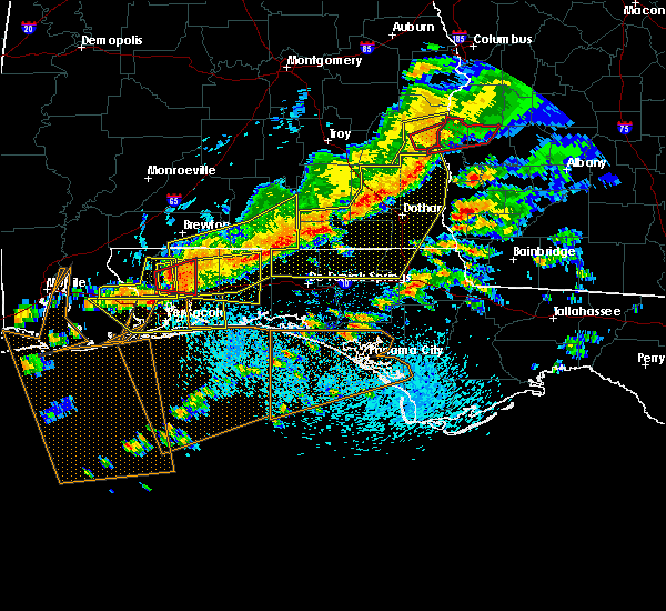 Radar Image for Severe Thunderstorms near Whitfield, FL at 3/31/2020 11:43 AM CDT
