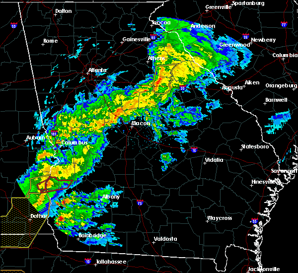 Radar Image for Severe Thunderstorms near Siloam, GA at 3/31/2020 12:49 PM EDT