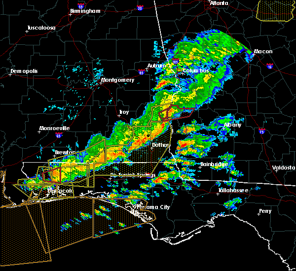 Radar Image for Severe Thunderstorms near Eufaula, AL at 3/31/2020 12:49 PM EDT