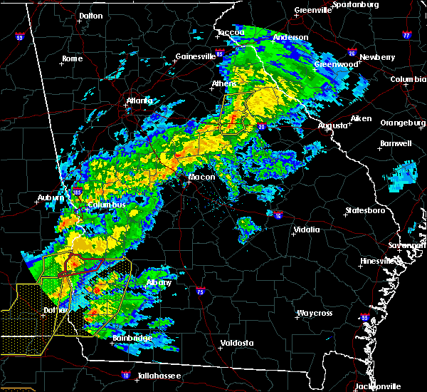 Radar Image for Severe Thunderstorms near Siloam, GA at 3/31/2020 12:57 PM EDT