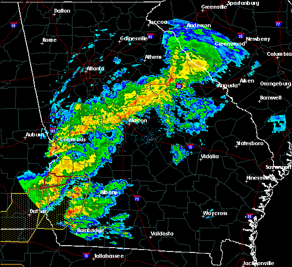 Radar Image for Severe Thunderstorms near Toomsboro, GA at 3/31/2020 1:12 PM EDT