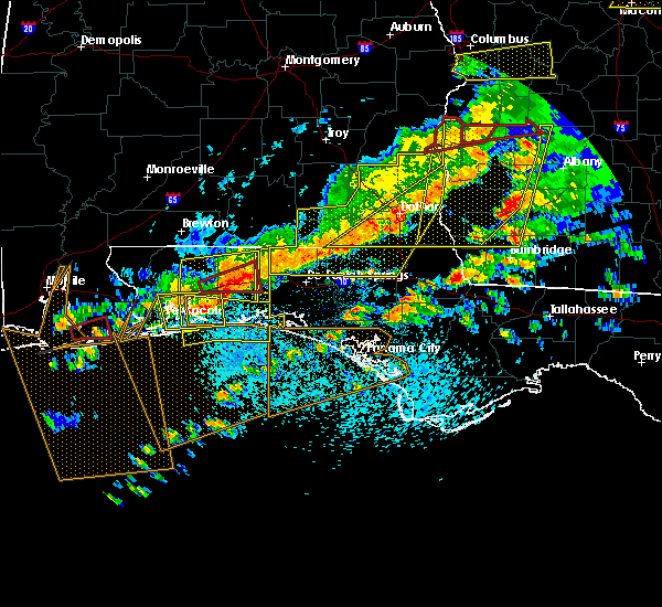 Radar Image for Severe Thunderstorms near Jacob City, FL at 3/31/2020 12:17 PM CDT