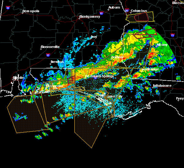 Radar Image for Severe Thunderstorms near Midway, FL at 3/31/2020 12:36 PM CDT