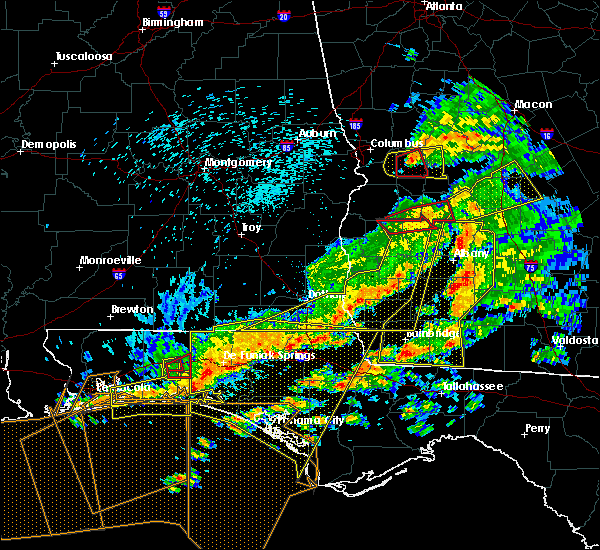 Radar Image for Severe Thunderstorms near Climax, GA at 3/31/2020 1:46 PM EDT