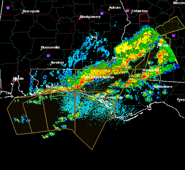 Radar Image for Severe Thunderstorms near Midway, FL at 3/31/2020 12:53 PM CDT