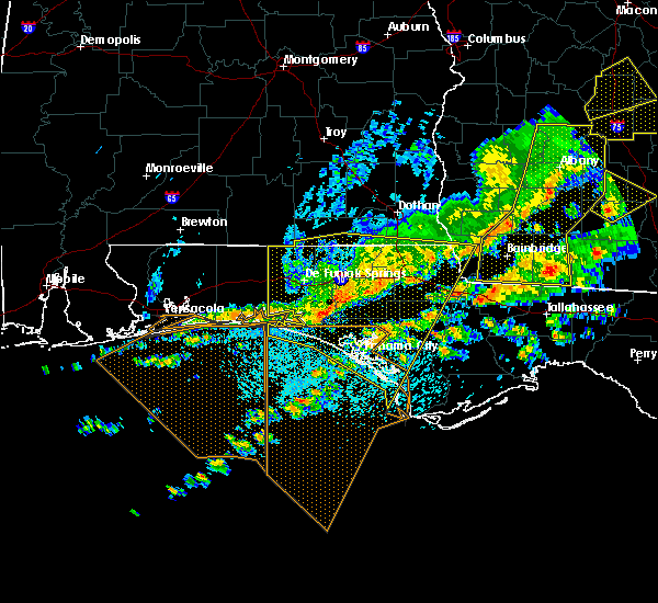 Radar Image for Severe Thunderstorms near Jacob City, FL at 3/31/2020 1:15 PM CDT