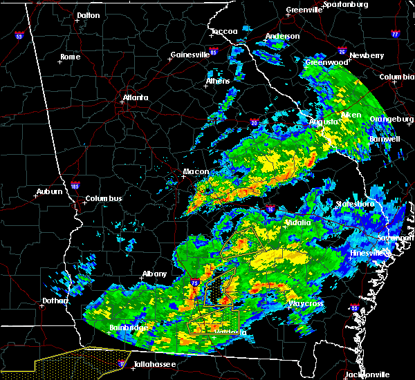 Radar Image for Severe Thunderstorms near Chauncey, GA at 3/31/2020 3:05 PM EDT