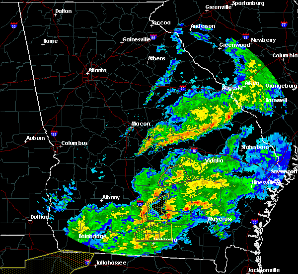 Radar Image for Severe Thunderstorms near McRae, GA at 3/31/2020 3:16 PM EDT