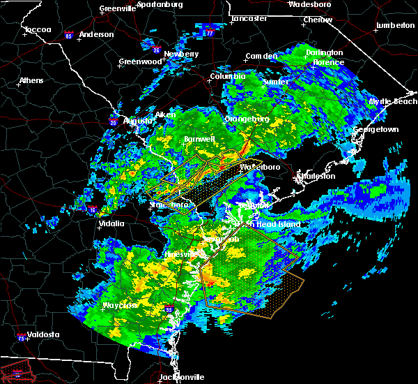 Radar Image for Severe Thunderstorms near Williams, SC at 3/31/2020 4:54 PM EDT