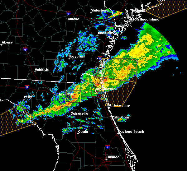 Radar Image for Severe Thunderstorms near World Golf Village, FL at 3/31/2020 6:31 PM EDT