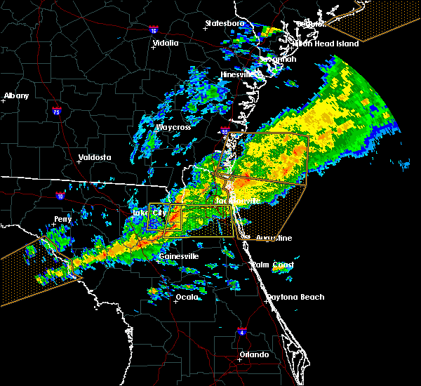 Radar Image for Severe Thunderstorms near World Golf Village, FL at 3/31/2020 6:34 PM EDT