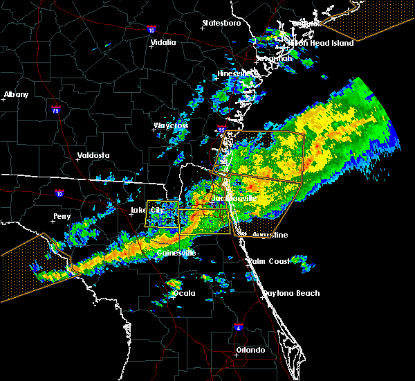 Radar Image for Severe Thunderstorms near World Golf Village, FL at 3/31/2020 6:52 PM EDT