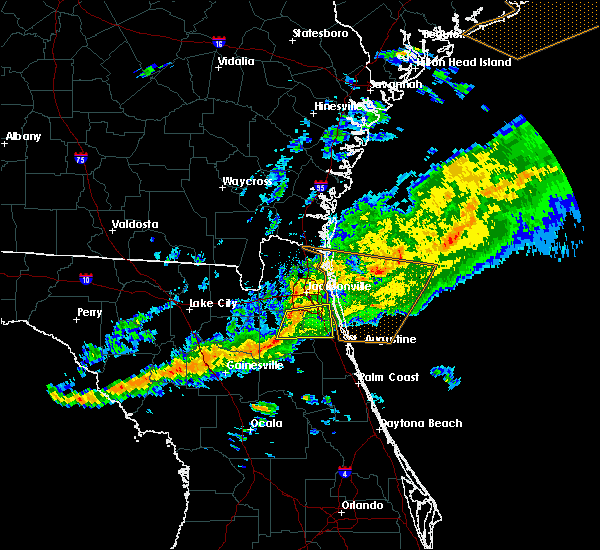 Radar Image for Severe Thunderstorms near World Golf Village, FL at 3/31/2020 7:00 PM EDT