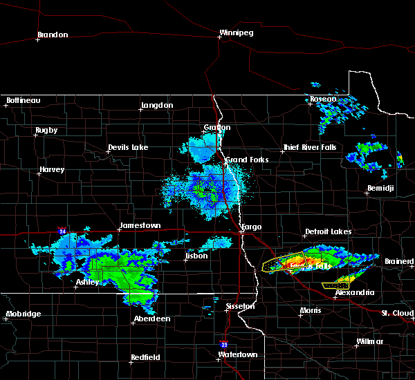 Radar Image for Severe Thunderstorms near Battle Lake, MN at 4/7/2020 2:35 AM CDT