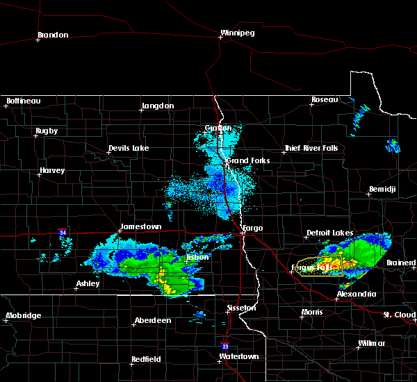 Radar Image for Severe Thunderstorms near Battle Lake, MN at 4/7/2020 3:11 AM CDT