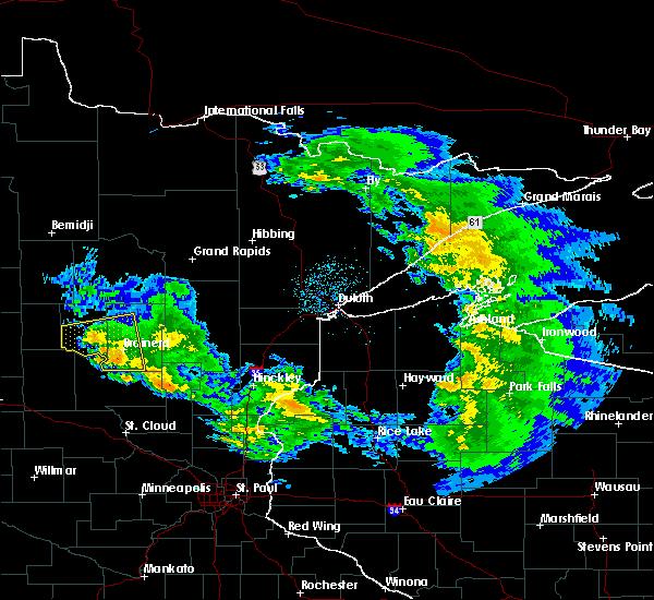 Radar Image for Severe Thunderstorms near Riverton, MN at 4/7/2020 4:43 AM CDT