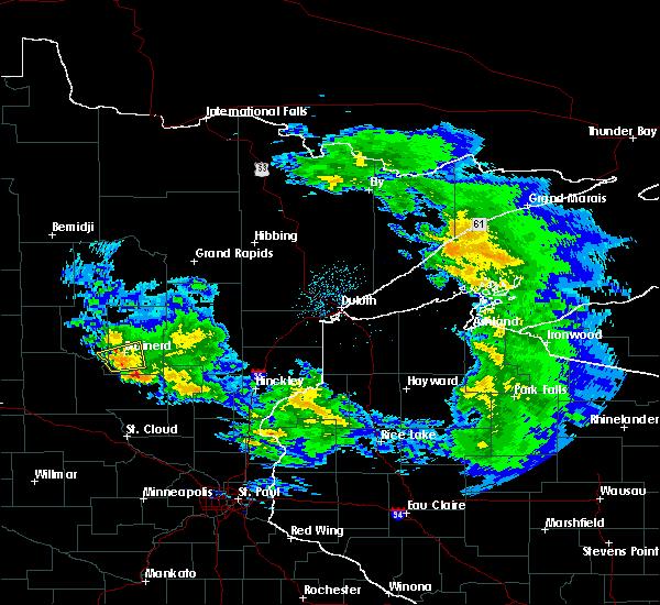 Radar Image for Severe Thunderstorms near Riverton, MN at 4/7/2020 4:54 AM CDT