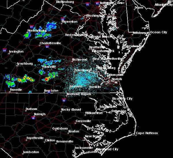 Radar Image for Severe Thunderstorms near Brodnax, VA at 4/7/2020 1:46 PM EDT
