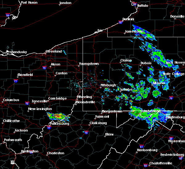 Radar Image for Severe Thunderstorms near Matamoras, OH at 4/7/2020 5:49 PM EDT