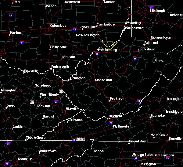 Radar Image for Severe Thunderstorms near West Union, WV at 4/7/2020 6:16 PM EDT