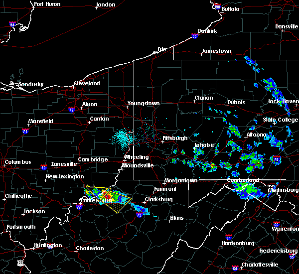 Radar Image for Severe Thunderstorms near Matamoras, OH at 4/7/2020 6:26 PM EDT