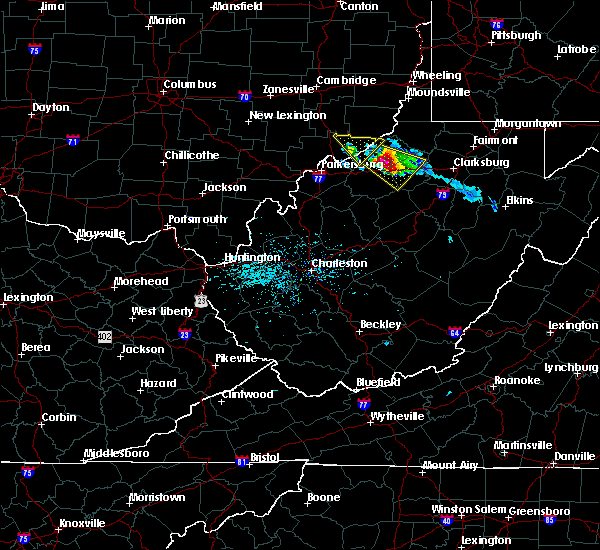 Radar Image for Severe Thunderstorms near West Union, WV at 4/7/2020 6:34 PM EDT