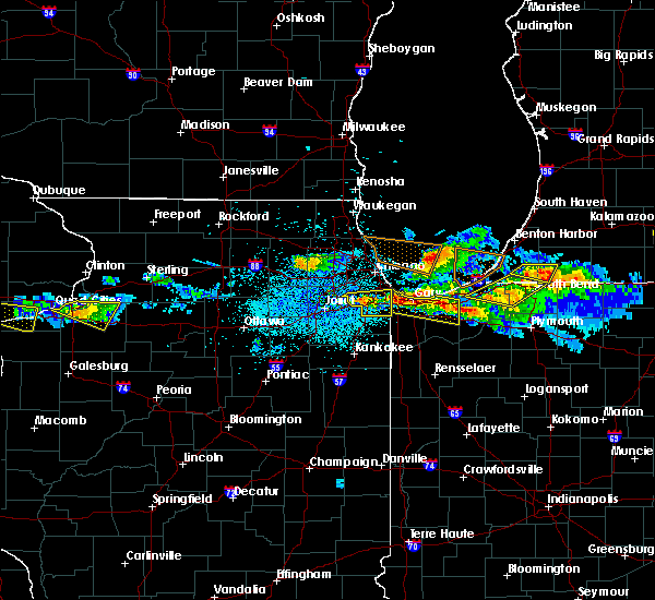 Radar Image for Severe Thunderstorms near Valparaiso, IN at 4/7/2020 9:11 PM CDT