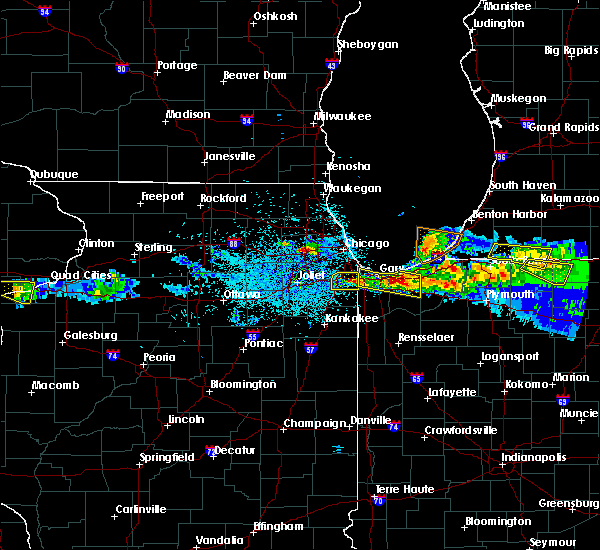 Radar Image for Severe Thunderstorms near Aberdeen, IN at 4/7/2020 9:31 PM CDT