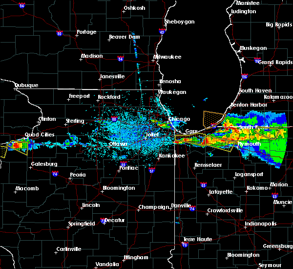 Radar Image for Severe Thunderstorms near Valparaiso, IN at 4/7/2020 9:52 PM CDT